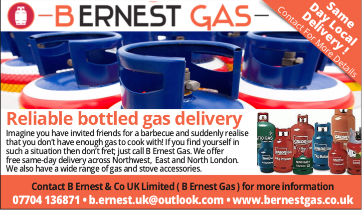 Bottle Gas Delivery London Boaters