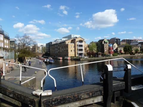 Photo of City Road lock