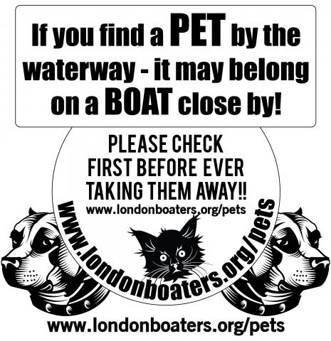 London Boaters Pets Reunited poster